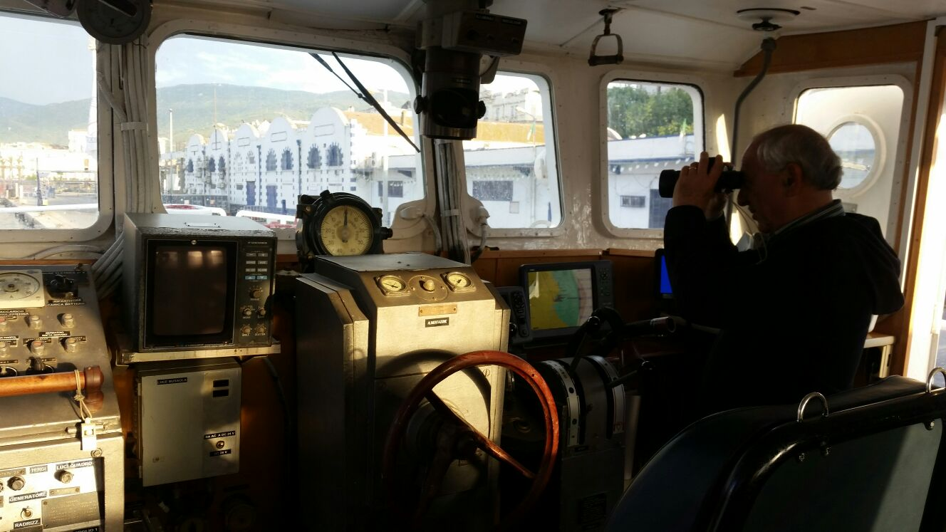 BNave Elpis, cabina comando