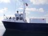 la nave con il container