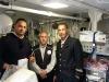 Ufficiali G.C. e Dr. Ungaro Giancarlo