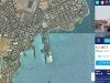 mappa satellitare del porto