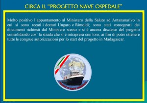 progetto nave ospedale