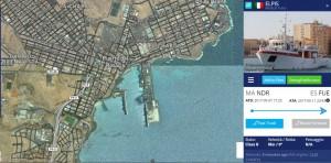 in porto mappa satellite