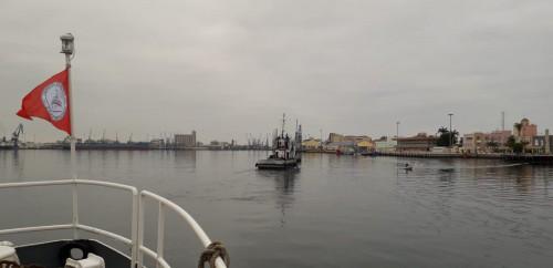 ingresso nel porto di Lobito